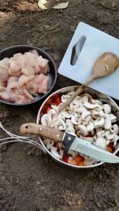 Kochen in der Natur