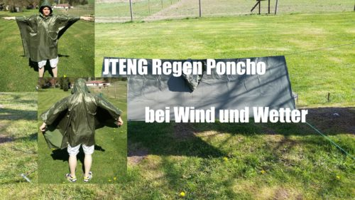 JTENG Regen Poncho