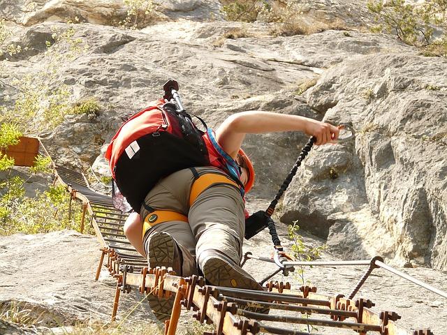 Gefahren und schönen Seiten am Klettern