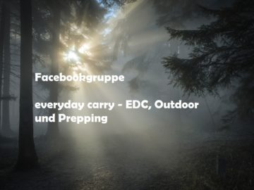 Facebookgruppe - everyday carry