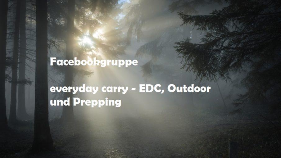 Facebookgruppe - everyday carry