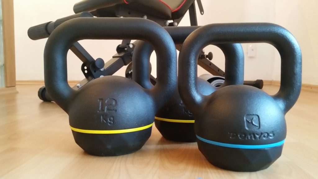 Kettle bell training