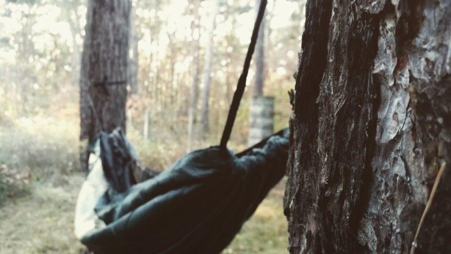 DD Hammock Hängematte im Wald