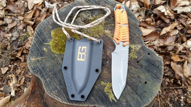 Bear Grylls Messer - Mein Outdoormesser mit Paracord