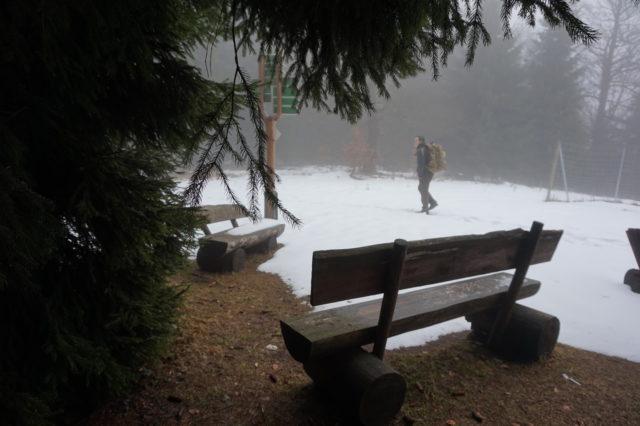 Wandern in Thüringen - Schnee und frische Luft