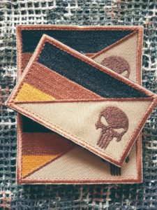 Patches und Aufnäher - Punisher German