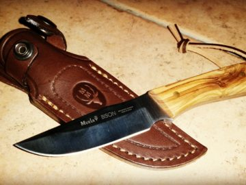Muela Messer Bison - Survivalmesser im Test