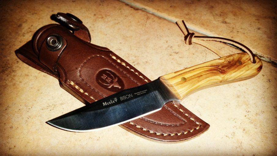 Muela Messer Bison - Survivalmesser im Test