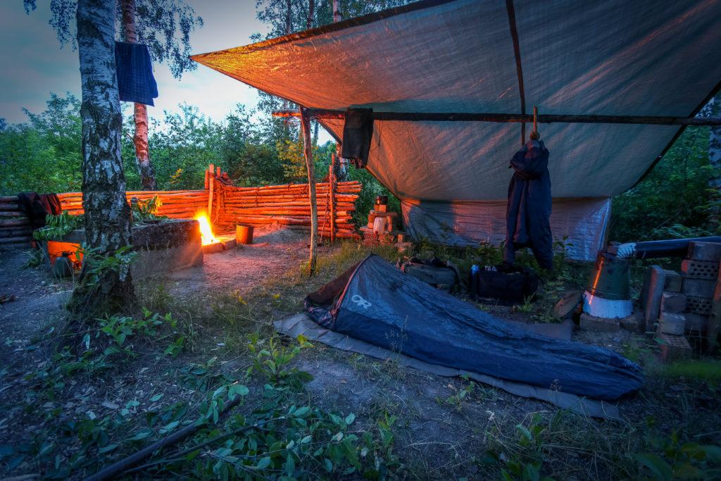 Fritz Meinecke - Mein Bushcraft Camp