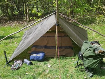 Naturfreund Alex - Meine Zelt für draußen