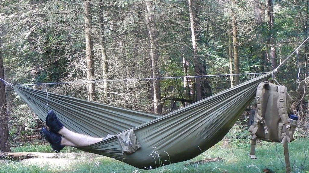 Patrick von Bushcraft Dicon - So schlafe ich draußen