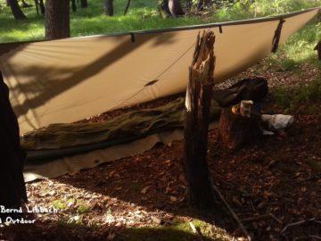 Wandern und Outdoor - Mein Unterkunft im Wald