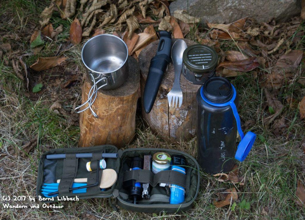 Wandern und Outdoor - Meine Kochausrüstung