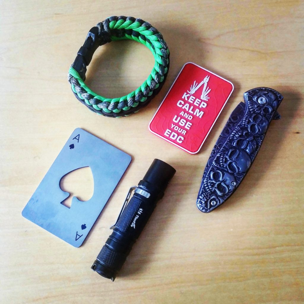 Every Day Carry Checkliste - EDC Ausrüstung