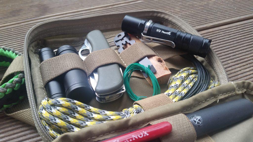ThorFire TG06S review - günstige EDC Taschenlampe