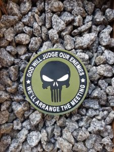 Rubber Patches - Punisher Patch
