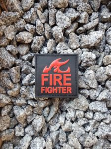 Rubber Patches - Feuerwehr Patch Fire Fighter