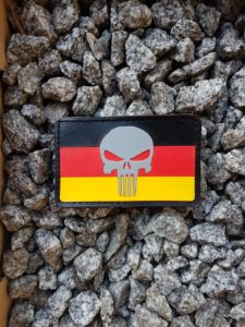 Rubber Patches - Punisher German Patch