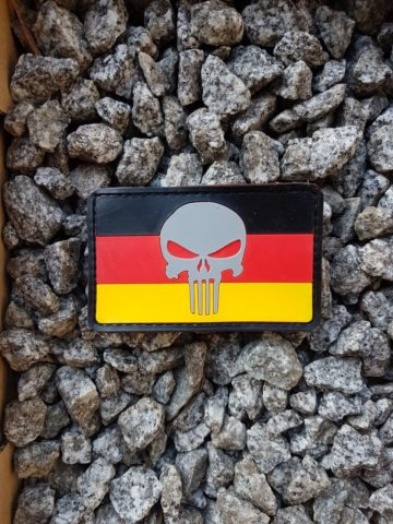Rubber Patches – Punisher German Patch
