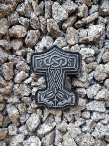 Rubber Patches - Thors Hammer