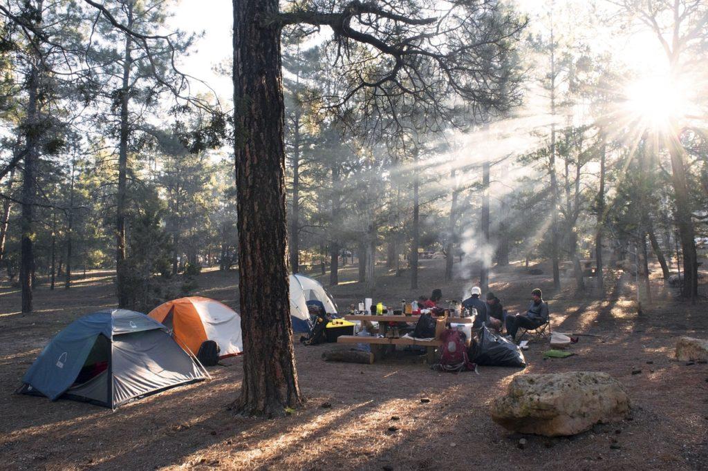 Camping Grundausstattung