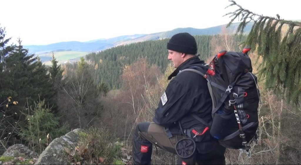 Der Jens unterwegs im Interview - Entspannt durch die Natur