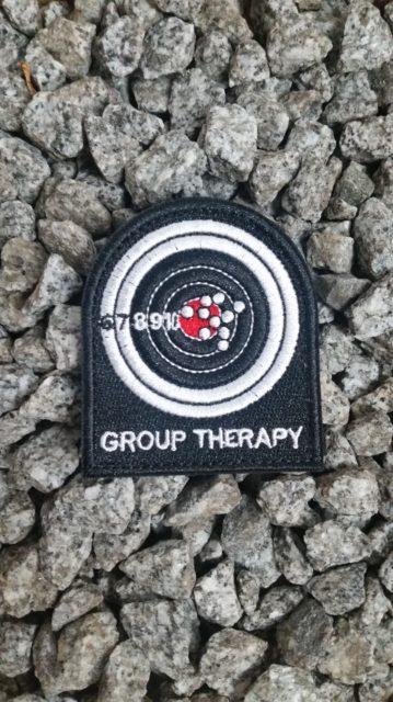Patch Gruppen Therapie Schützenscheibe