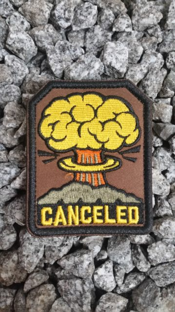 Patch Canceled Teampatch Airsoft
