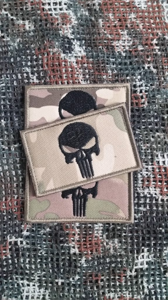 Patch Punisher Tarnmuster Teampatch Airsoft