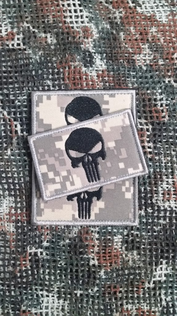 Punisher pixeltarn Teampatch Airsoft