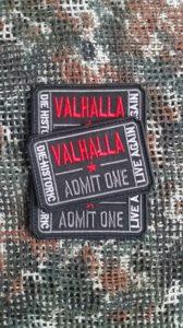 Patch Walhalla Ticket