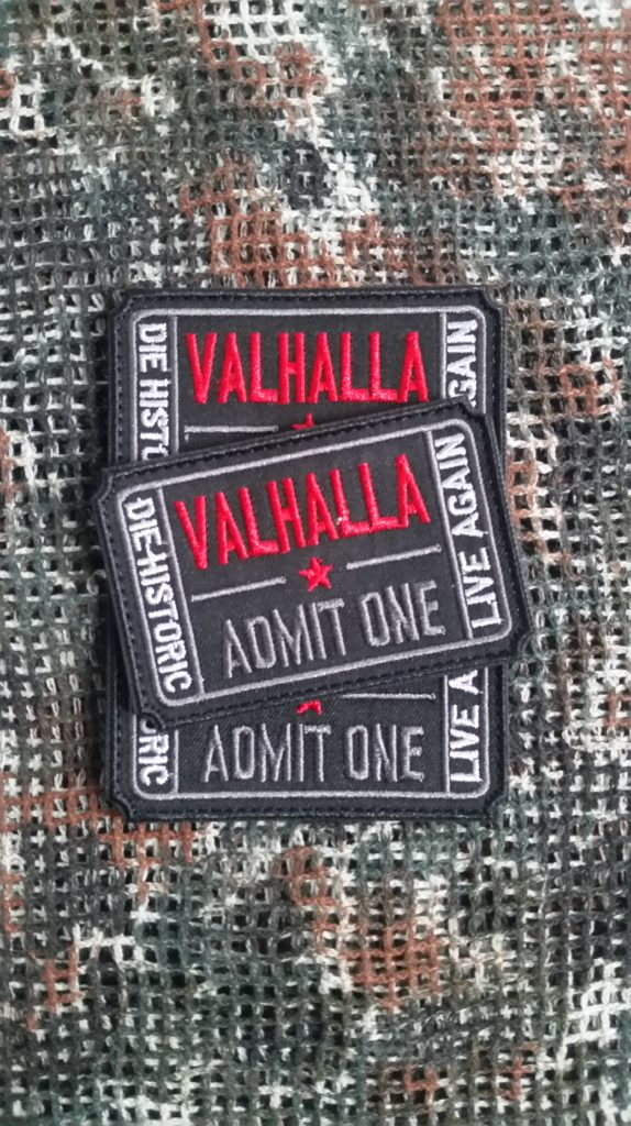 Patch Walhalla Ticket