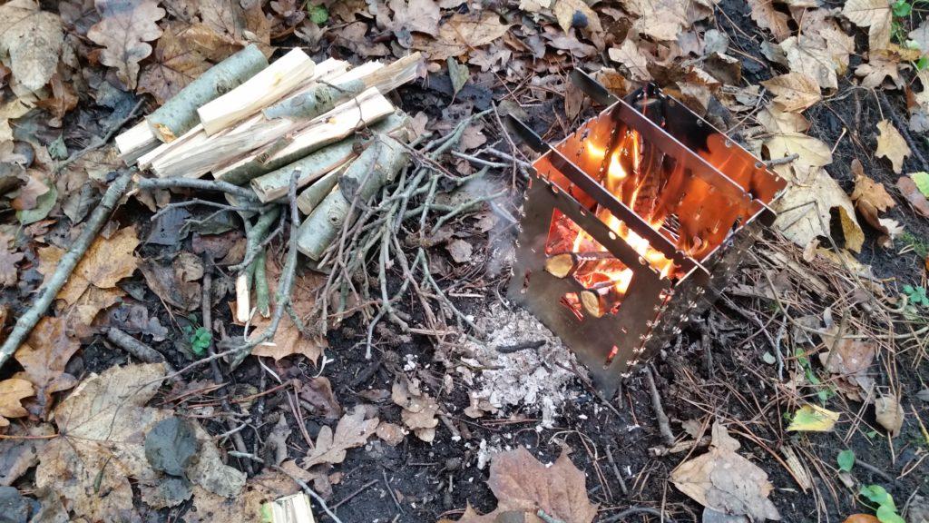 Vorstellung Outdoor-Kocher Bushbox XL - Campfire und Kochstelle