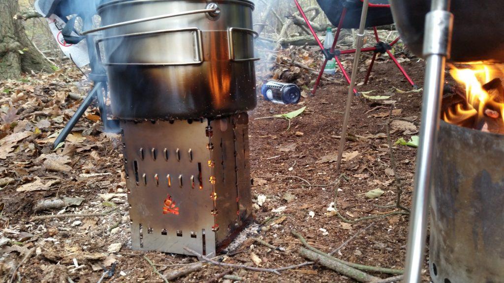 Vorstellung Outdoor-Kocher Bushbox XL - sehr stabil und robust