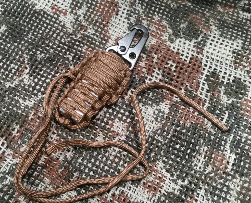 Das EDC Survival Set - 550er Fallschirmleine