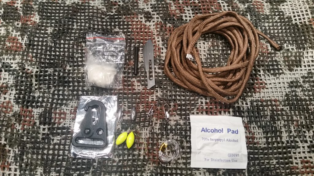 Das EDC Survival Set - Inhalt der Granate