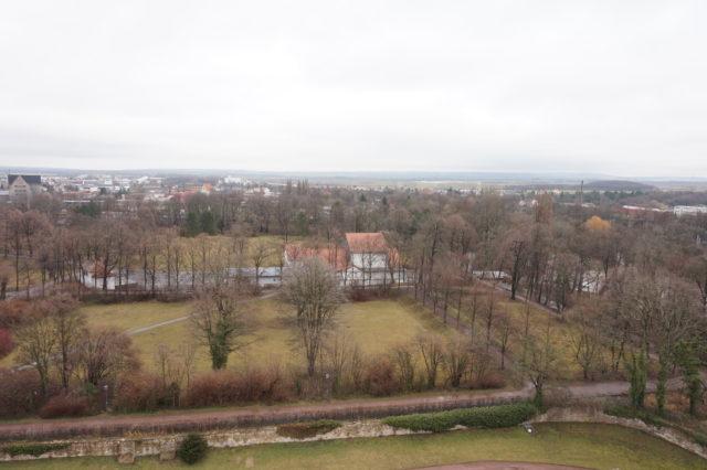 Schlossruine Neideck in Arnstadt - Ausblick vom Turm