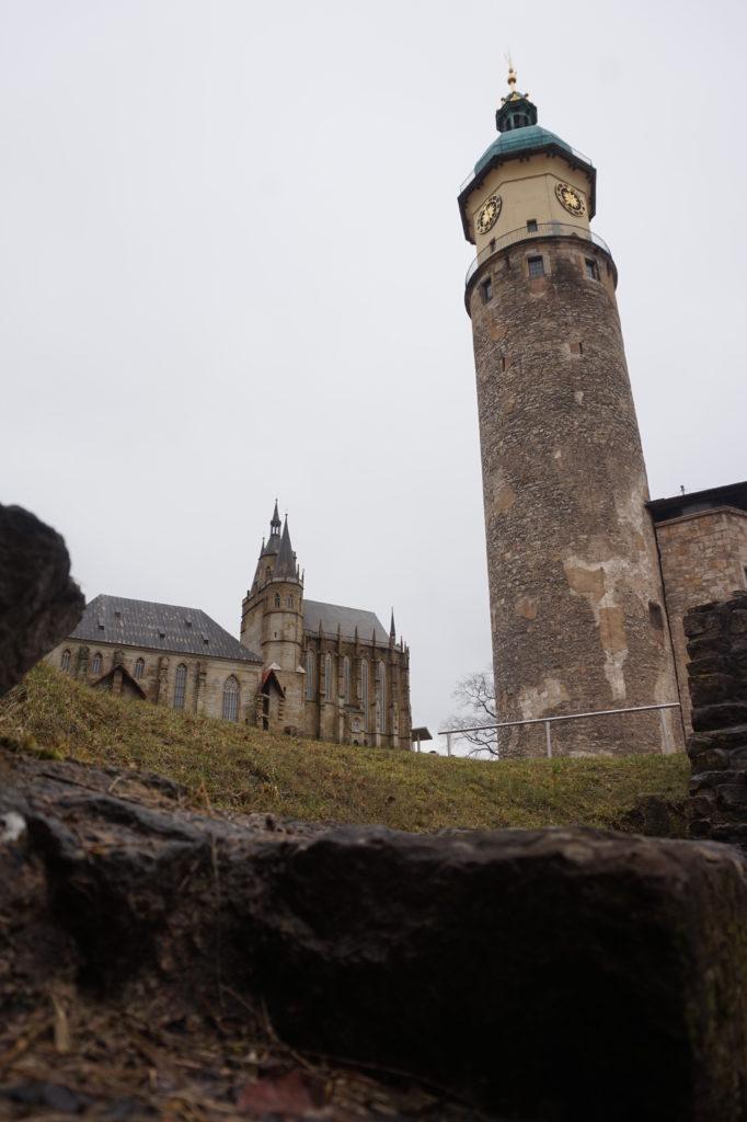 Schlossruine Neideck - Der Schlossturm