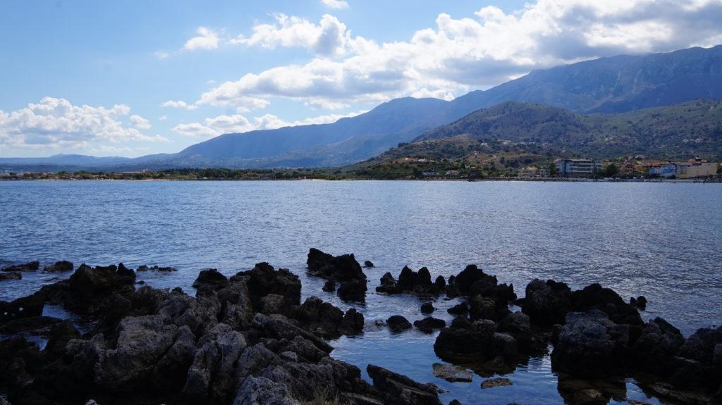 Reisebericht Georgioupolis auf Kreta - Ausblick von der Kapelle Agios Nikolaos