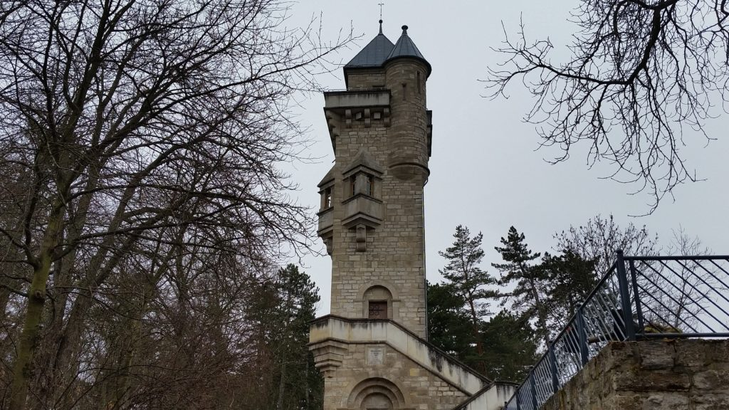 Alteburgturm in Arnstadt - Ausflugsziel Thüringen