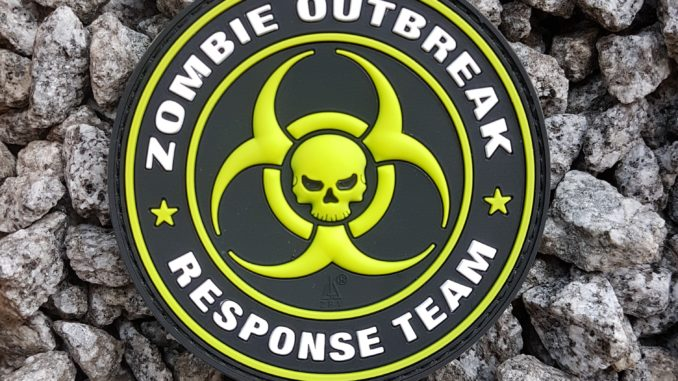 AIRSOFT PATCH ZOMBIE OUTBREAK RESPONSE TEAM