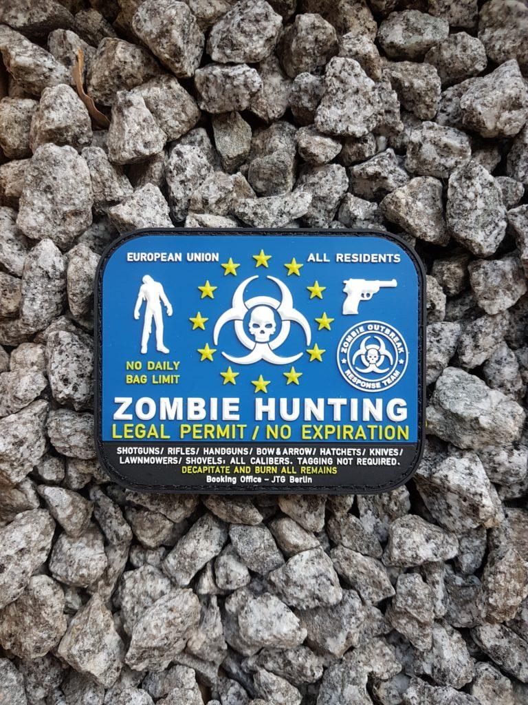 PATCH ZOMBIE HUNTING - Walking Dead lässt grüßen
