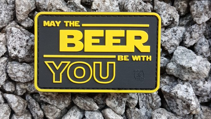 MAY THE BEER BE WITH YOU PATCH