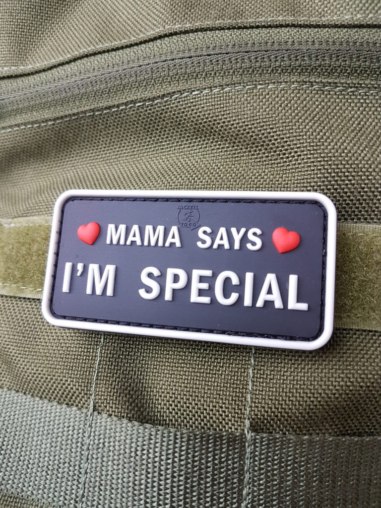 AIRSOFT Patches - Mama says I'm special