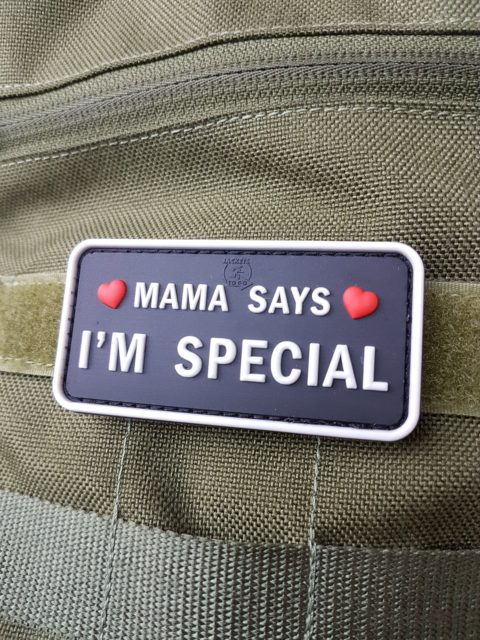 AIRSOFT Patches – Mama says I'm special