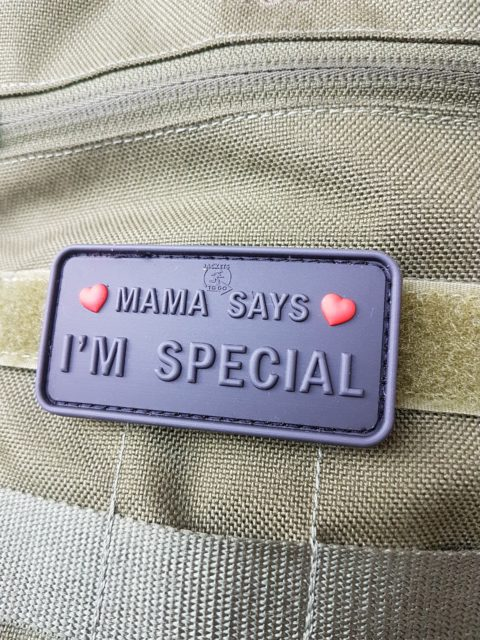 AIRSOFT Patches – Mama says I'm special, blackops
