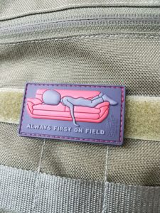 AIRSOFT Patches - Always first on field