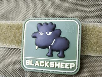 AIRSOFT PATCH – LITTLE BLACKSHEEP, forrest