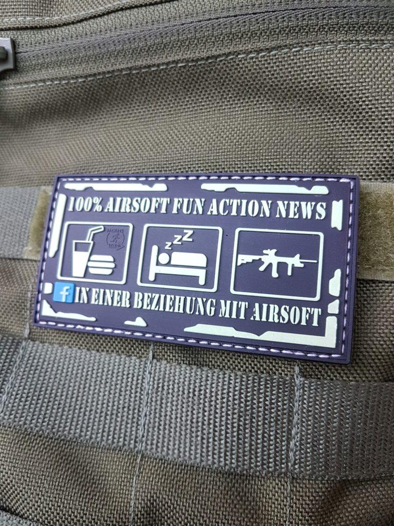 AIRSOFT Patches - In einer Beziehung mit Airsoft