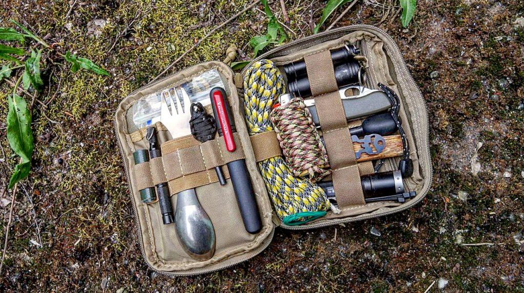 Everyday carry - EDC Ausrüstung für Notfallrucksack